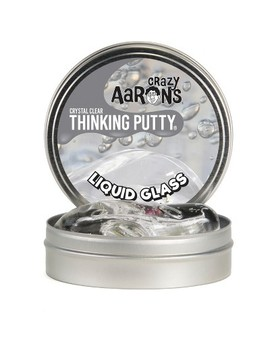 """Crazy Aaron's Thinking Putty   4"""" Liquid Glass by Crazy Aaron's"""