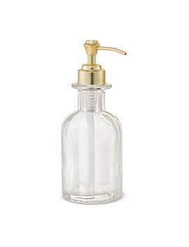 Fluted Glass Solid Soap Pump Clear   Threshold™ by Threshold