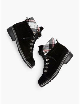 Viola Blondo® Boots   Suede by Talbots