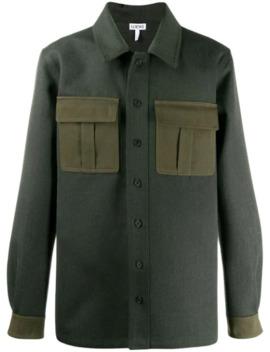 Contrast Pockets Shirt Jacket by Loewe