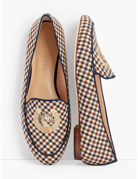 Ryan Loafers   Piped Plaid by Talbots