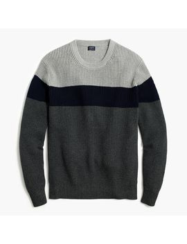 Colorblock Sweater by J.Crew