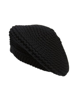 Knit Cashmere Beret by Nordstrom Signature