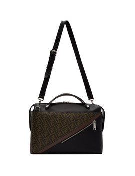 Black & Brown 'forever Fendi' By The Way Briefcase by Fendi