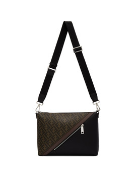 Black & Brown 'forever Fendi' By The Way Bag by Fendi