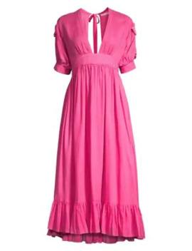 Greta Midi A Line Dress by Carolina K