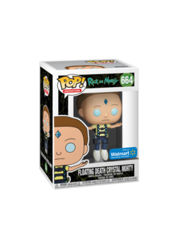 Funko Pop! Animation: Rick & Morty   Floating Death Crystal Morty   Walmart Exclusive by Funko