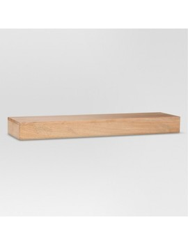 Wood Floating Shelf Pine   Threshold™ by Shop This Collection