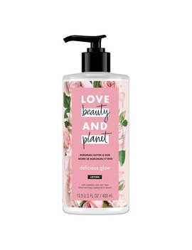 Love Beauty And Planet Murumuru Butter & Rose Body Lotion Delicious Glow 13.5 Fl Oz by Love Beauty And Planet