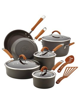 Rachael Ray Nonstick 12 Pc Cookware Set by Rachael Ray