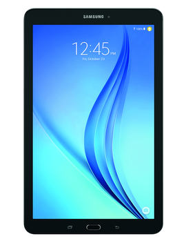 "Samsung Galaxy Tab E 9.6\"" 16 Gb Android 5.1 Wi Fi Tablet Black   Micro Sd Card Slot   Sm T560 Nzkuxar by Samsung"