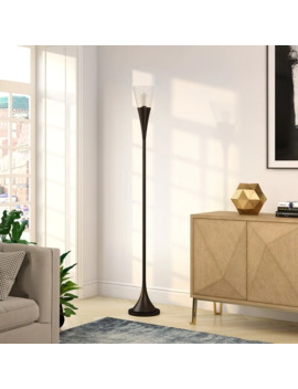 Carson Carrington Sagtaken Handmade Table Lamp by Carson Carrington