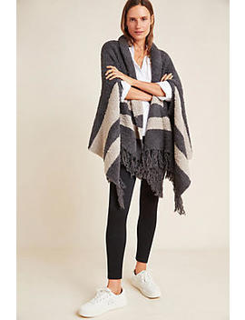 Barefoot Dreams Malibu Striped Wrap by Barefoot Dreams