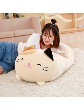 30/60cm Soft Animal Cartoon Pillow Cushion Cute Fat Dog Cat Totoro Penguin Pig Frog Plush Toy Stuffed Lovely Kids Birthyday Gift by Ali Express.Com