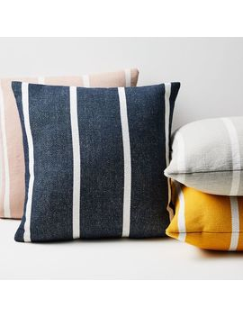 Outdoor Simple Stripe Pillows by West Elm