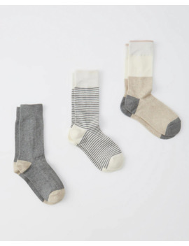 3 Pack Classic Socks by Abercrombie & Fitch