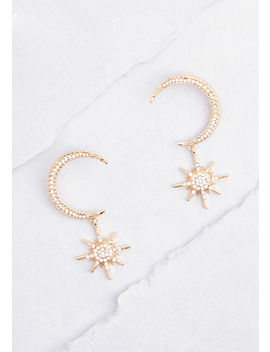 Your Shining Moment Drop Earrings by Modcloth