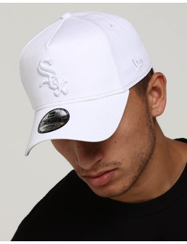 New Era White Sox 9 Forty A Frame White by New Era