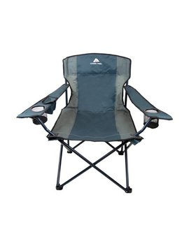 Ozark Trail Oversized Tailgate Quad Folding Camp Chair by Ozark Trail