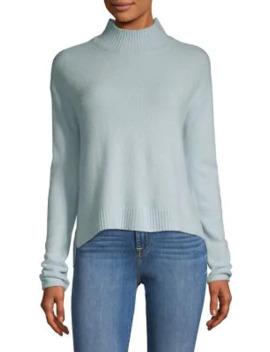 Ribbed Mockneck Sweater by Design Lab
