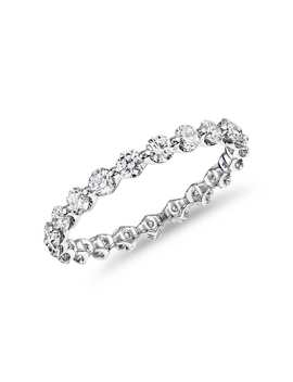 The Gallery Collection™ Floating Diamond Eternity Ring In Platinum (1 1/4ct. Tw.) by Blue Nile