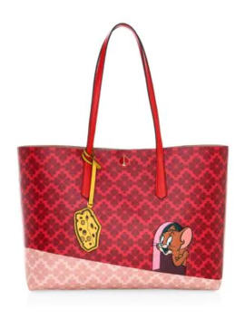 Large Kate Spade New York X Tom & Jerry Tote by Kate Spade New York