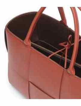 Cassette Medium Leather Tote by Bottega Veneta