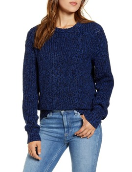 Marled Cotton Sweater by Lucky Brand