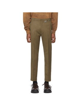 Green Samson Zip Trousers by Cmmn Swdn
