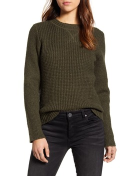 Waffle Knit Pullover by Lucky Brand