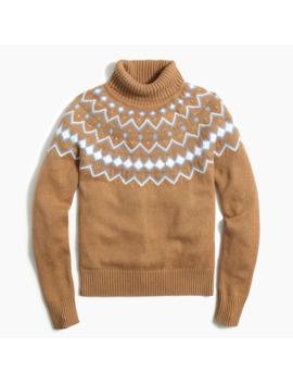Turtleneck Fair Isle Sweater by J.Crew