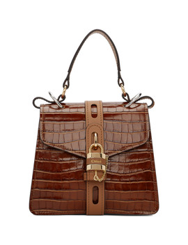 Brown Small Aby Day Bag by ChloÉ