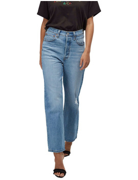 Ribcage Straight Ankle Jeans by Levi's®