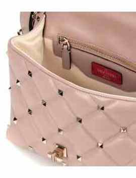 Valentino Garavani Candystud Leather Shoulder Bag by Valentino