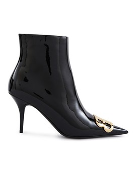 Calf Skin Leather Ankle Boots by Balenciaga