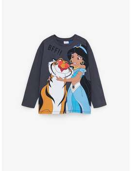 Jasmine Aladdin © Disney T Shirt by Zara
