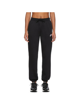 Black Nsw Essentials Lounge Pants by Nike