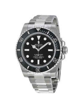 Rolex Submariner Automatic Black Dial Men's Watch 114060 by Rolex