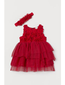 Tulle Dress And Hairband by H&M