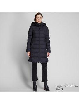 Women Ultra Light Down Hooded Coat (93) by Uniqlo