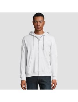 Hanes Men's Eco Smart Fleece Full Zip Hooded Sweatshirt by Hanes