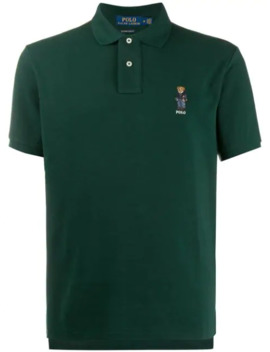 Signature Embroidered Teddy Polo Shirt by Polo Ralph Lauren