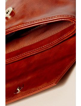 Faux Leather Hip Bag by Anthropologie