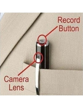 Portable Mini Hd1280x960 Spy Pen Realistic Camera Hidden Camera Suport Micro Sd Card Dv Dvr Video Camcorders by Wish