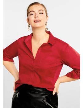 Camicia Cotone Tasche by Mango