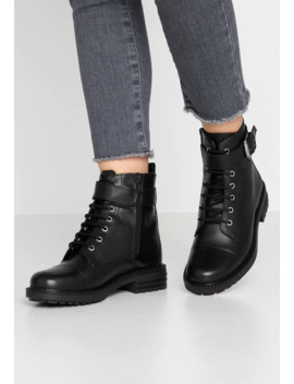 Lace Up Ankle Boots   Black by Office