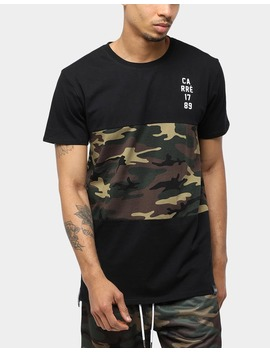 Carré Camo Division Ss Tee Black/Camo by Carre