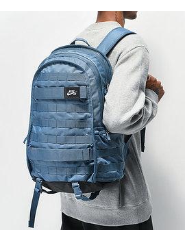 Nike Sb Rpm Thunderstorm Blue Backpack by Nike Sb
