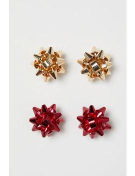 2 пар серег гвоздиков by H&M