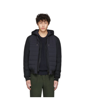 Navy Down Eryk R Jacket by Mackage